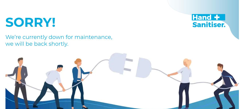 Handsanitiser Service Temporarily Unavailable